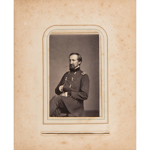 Civil War CDV Album of Union Generals, Most by Brady/Anthony