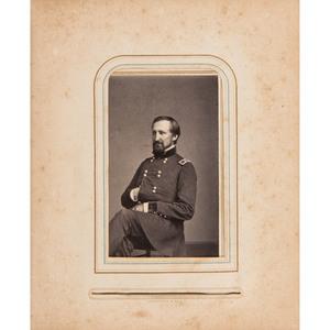 Civil War CDV Album of Union Generals, Most by Brady/Anthony