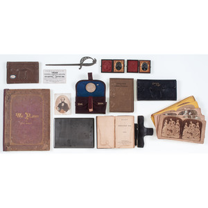 Group of Miscellaneous Civil War-Related Items
