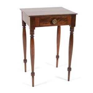 Hepplewhite One Drawer Stand