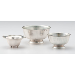 Gorham Sterling Revere Bowls, Plus