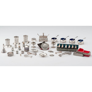 Sterling Tablewares and Accessories, Plus
