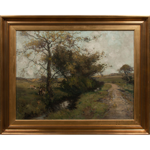 J. Taylor Brown (19th-20th century) Oil on Canvas
