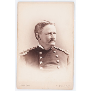 Noted Indian Fighter General Wesley Merritt Cabinet Card