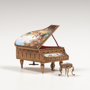 Miniature Piano Music Box