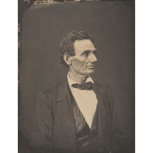 Abraham Lincoln, Fine Photograph Printed by Ayres from the Hesler Negative