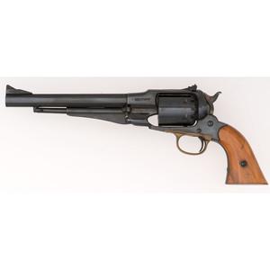 Iver Johnson Reproduction Model 1858 Remington Percussion Revolver