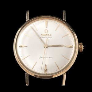 Omega Seamaster Wristwatch in Gold-fill