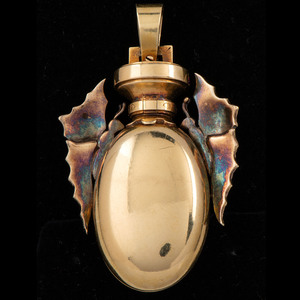 18k Gold Victorian Locket