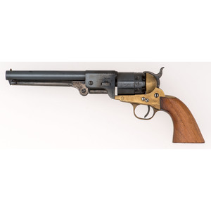 Navy Arms Brass Frame Percussion Revolver