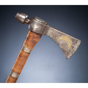 A Well-Documented Northwest Territory Presentation Style Pipe Tomahawk