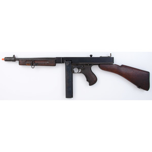 Non-firing Dummy Thompson Sub Machinegun