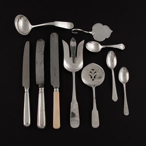 British and American Sterling Flatware, Plus