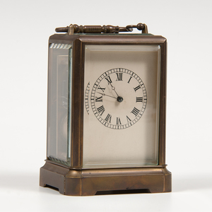 Japy Freres Brass Carriage Clock