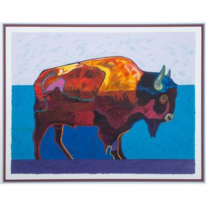 John Nieto (American, 1936-2018) Artist ProofSerigraph