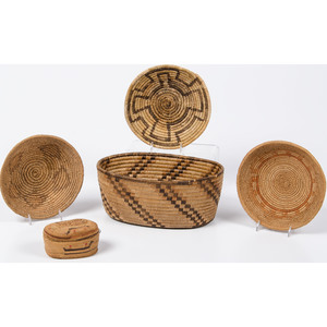 Collection of Southwestern Baskets