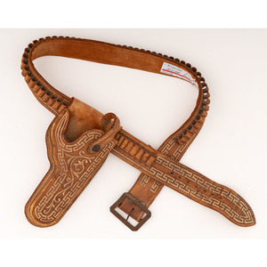 Mexican Leather Embroidered Holster