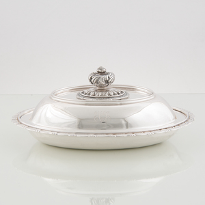 Tiffany Sterling Covered Vegetable Dish