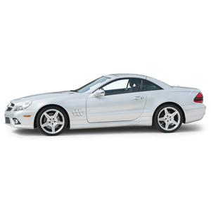 2009 Mercedes 550sl Silver Arrow Edition