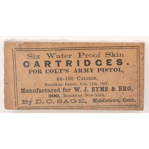 Pack Of Six Water Proof Skin Cartridges