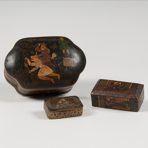 Persian Lacquer Boxes