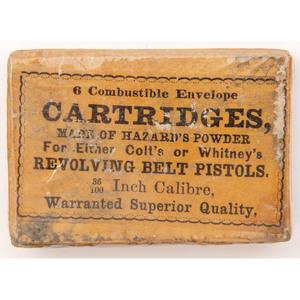 Six Combustible Envelope Cartridges