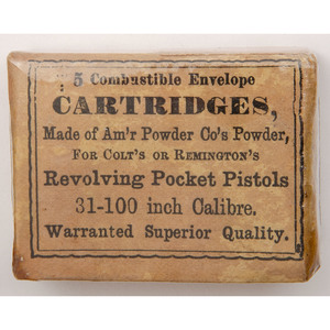 5 Combustible Cartridges