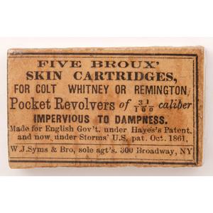 Five Broux Skin Cartridges