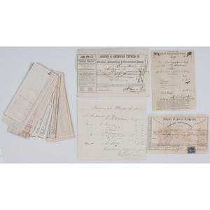 Civil War-Period Collection of Southern Receipts