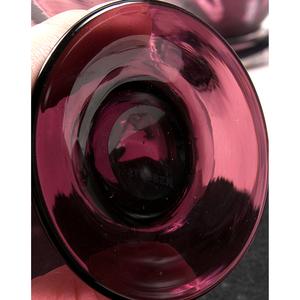 Amethyst Glassware Including Steuben