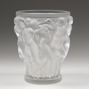 Lalique Vase, Bacchantes