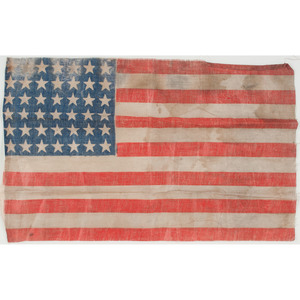 42-Star and 46-Star US Parade Flags