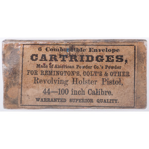 6 Combustible Envelope Cartridges