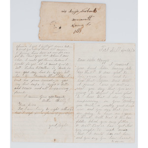 Indian Wars Letter from Fort Sill, 1872, with Interesting Content Incl. Buffalo Soldiers and Fear of Being Scalped by a Prospective Indian Wife