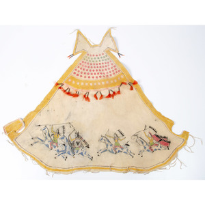 Painted Hide Toy Tipi Cover
