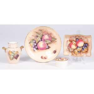 Aynsley Fruit Pattern Wares