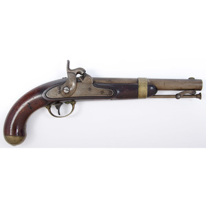US Model 1842 Percussion Pistol by Aston