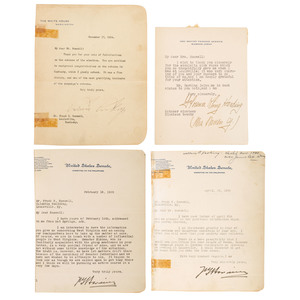 Autograph Book of 47th Congress Plus Nine Presidents and Other Politicians