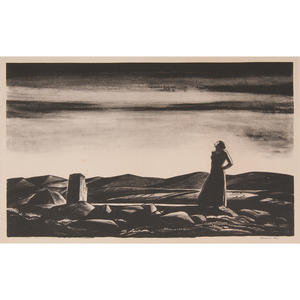 Rockwell Kent (American, 1882-1971) Lithograph