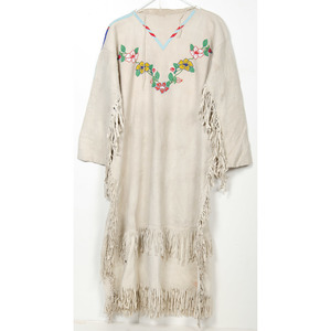 Northern Plains Beaded Hide Dress