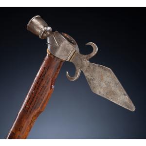 Spontoon Pipe Tomahawk, Attributed to Seneca Chief Cornplanter