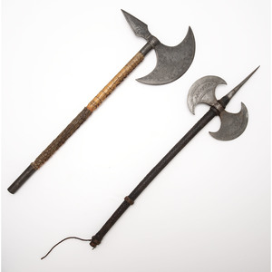 Lot of Two Battle Axes