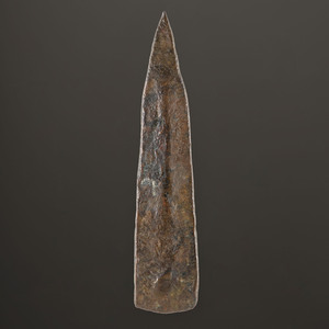 An Old Copper Culture Socketed Tool, 3-1/2 in.