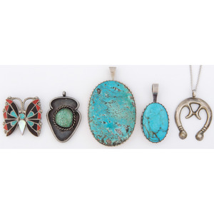 Navajo and Zuni Pendants