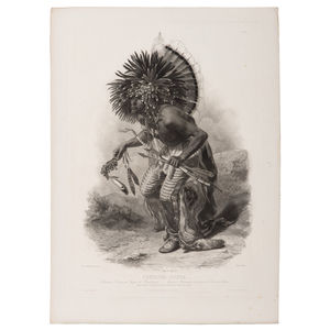 Karl Bodmer (Swiss, 1809-1893) Etching, From the James B. Scoville Collection