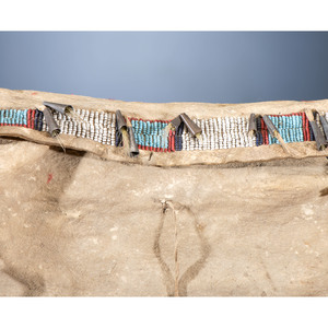 Cheyenne Beaded Hide Possible Bag, From the James B. Scoville Collection