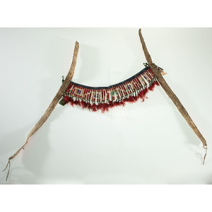 Sioux Quilled Hide Horse Headstall, From the James B. Scoville Collection