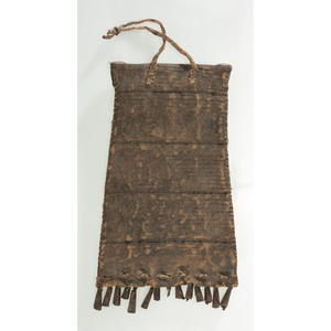 Southern Plains Beaded Hide Strike-a-Light Bag, From the James B. Scoville Collection