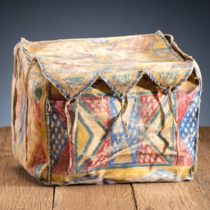 Sioux Painted Parfleche Trunk, From the James B. Scoville Collection