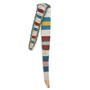 Sioux Beaded Hide Awl Case, From the James B. Scoville Collection